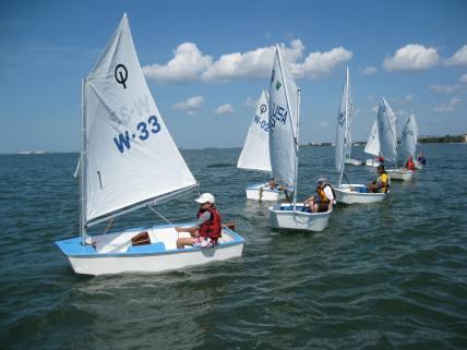 opti sailing 12