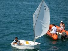 opti sailing 14